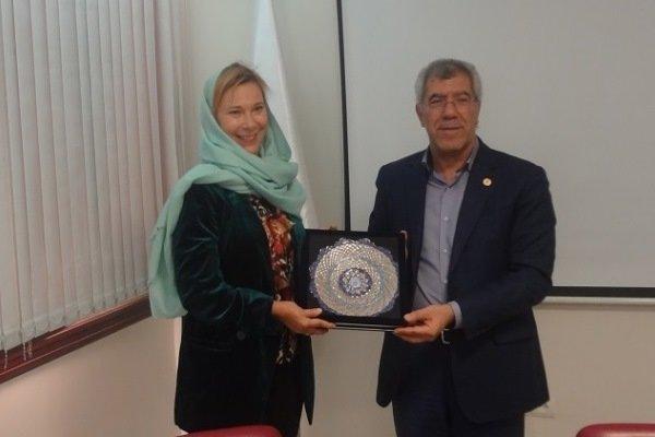 سفیر سوئد از دانشگاه شریف بازدید کرد/ تسهیل رفت و آمد نخبگان