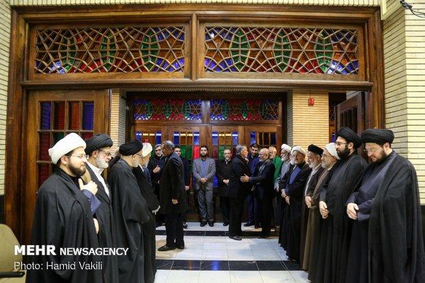نکوداشت آیتالله هاشمی شاهرودی در مسجد نور