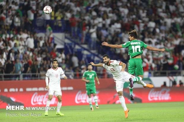 Iran vs. Iraq in AFC Asian Cup