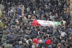 شهید مدافع حرم «حسین نظری» در قرچک تشییع شد