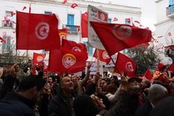 تظاهرات تونسی ها علیه نظام حاکم