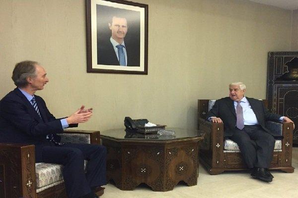 BM Suriye Temsilcisi Muallim ile görüşmesini değerlendirdi