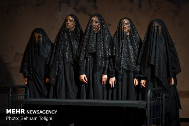 'The House of Bernarda Alba' on stage in Tehran