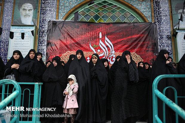 تشییع پیکر حاج محمدرضا اعتمادیان