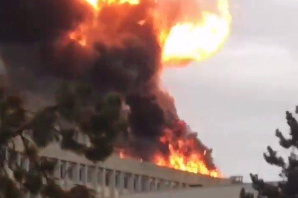 فرانس میں یونیورسٹی میں دھماکے سے 3 افراد زخمی