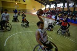 مسابقات سوپر لیگ بسکتبال با ویلچر کشور در مشهد