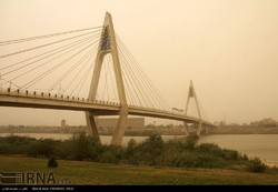 Sand, dust storms hit Khuzestan, PM at 22 times above safe levels