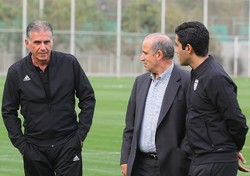 Iran football President Taj warns coach Queiroz to refrain from controversies