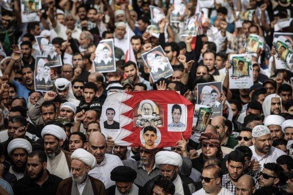 """حراك بحراني تنديدا بجريمة آل سعود بحق """"شهداء الكرامة"""""""