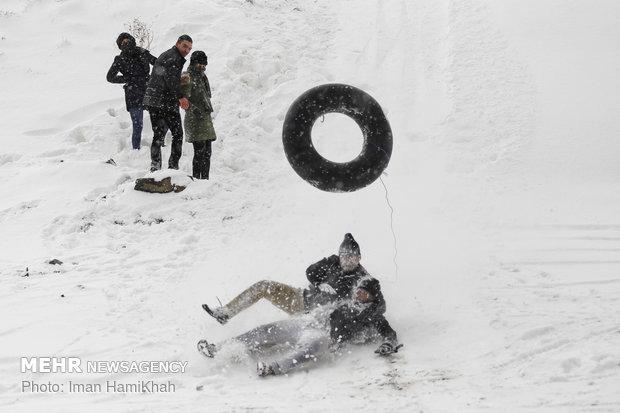 تفریح برفی