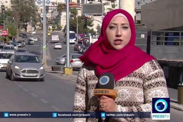 """تجربة المراسلة اللبنانية """"منى قنديل"""" بقناة """"برس تي في"""" في غزة"""