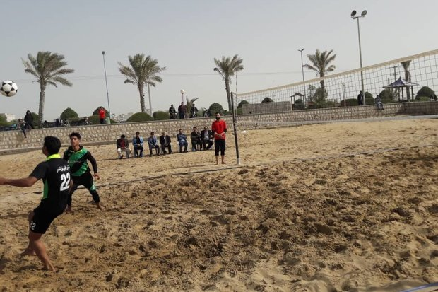مسابقات فوتوالی استان بوشهر برگزار شد