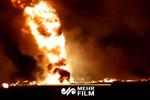 Meksika'daki patlama anından görüntüler