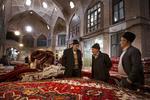 Tarihi Tebriz halı çarşısından güzel kareler