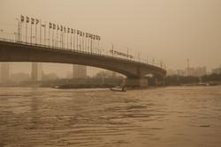گرد و غبار بر هوای ۱۰ شهر خوزستان سایه انداخت