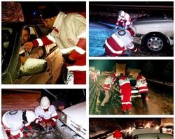 امدادرسانی به ۱۶۰۰ خودروی گرفتار در برف و کولاک