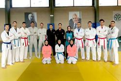 حضور کاراته کاهای شش کشور در کمپ رم