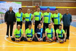 قهرمانی تیم والیبال نشسته فیروز قزوین در لیگ یک کشور