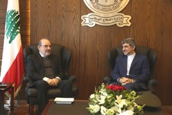 Iran envoy, Lebanon defense minister discuss regional coop.