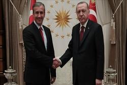 اردوغان با معاون رئیس جمهور ونزوئلا دیدار کرد