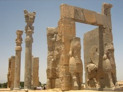 The Gate of All Nations in Persepolis