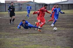 دیدار تیم های فوتبال شهرداری آستارا و شهرداری اردبیل