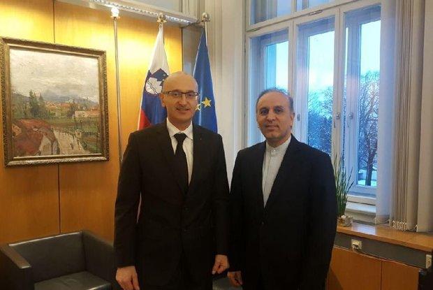 Iran-Slovenia trade value hits 23% growth: envoy