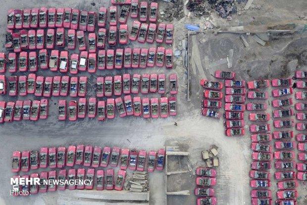 چین از نمای بالا
