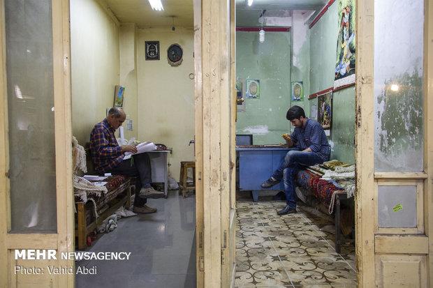 Tabriz carpet bazaar
