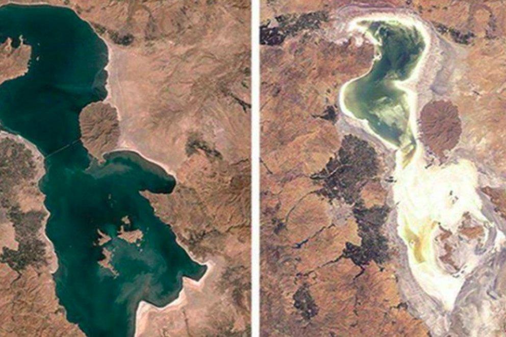 """تحدي العشر سنوات العالمي من بحيرة  """"هامون"""" إلى """"ارومية"""""""