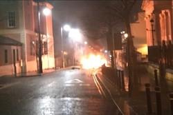 تفجير  في ايرلندا الشمالية يشتبه أنه ناجم عن سيارة مفخخة