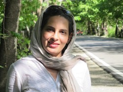 Iranian translator Maryam Heidari.