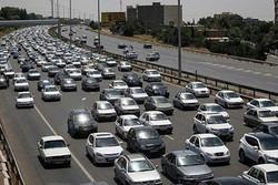 تردد روان در محورهای شمالی/ترافیک در محور کرج-تهران سنگین است