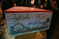 پیکر شهید گمنام در میبد تشییع شد