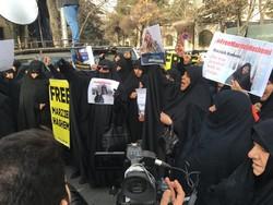 آزادیخواهان آمریکایی به دستگیری مرضیه هاشمی اعتراض کنند