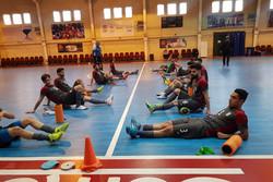 پایان اردوی تیم ملی فوتسال بعد از ۴ جلسه تمرین