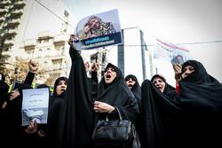 تجمع دانشجویان و اصحاب رسانه در حمایت از «مرضیه هاشمی»