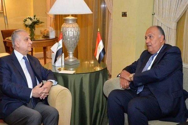 Irak Dışişleri Bakanı Mısırlı mevkidaşıyla görüştü