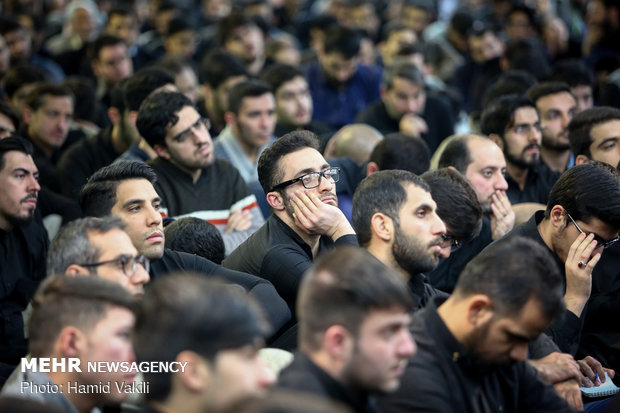 Mourning ceremony for martyrdom anniv. of Hazrat Fatemeh (SA)