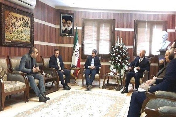 Azerbaycanlı iş adamlarından İran tarım ürünlerine büyük ilgi