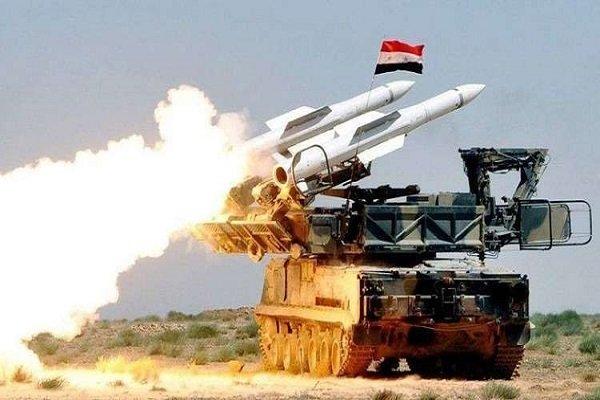 الدفاع الجوي السوري يتصدى لعدوان جوي إسرائيلي