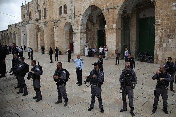 Mescid-i Aksa muhafızlarına Harem-i Şerif'e giriş yasağı