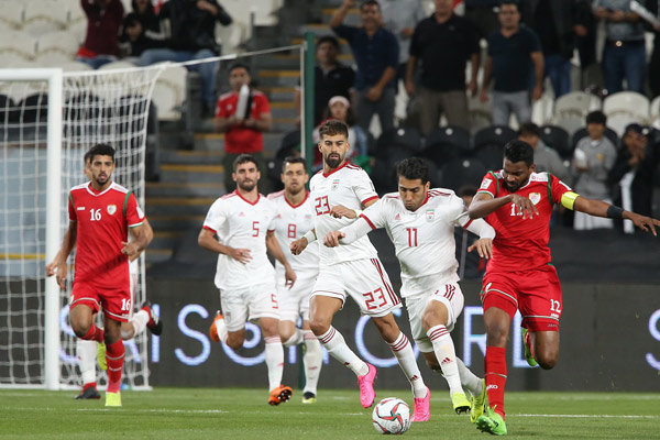 Iran vs Oman in AFC Asian Cup 2019