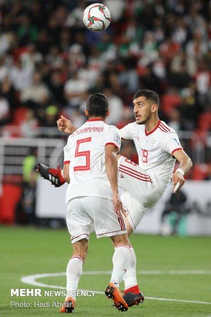 دیدار تیم های ملی فوتبال ایران و عمان