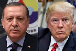 امریکی صدر ٹرمپ کا ترکی کے خلاف پابندیاں عائد کرنے کا عندیہ