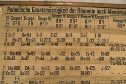 قدیمیترین جدول تناوبی عناصر دنیا بازسازی شد