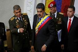 محاولة انقلاب عسكري على مادورو