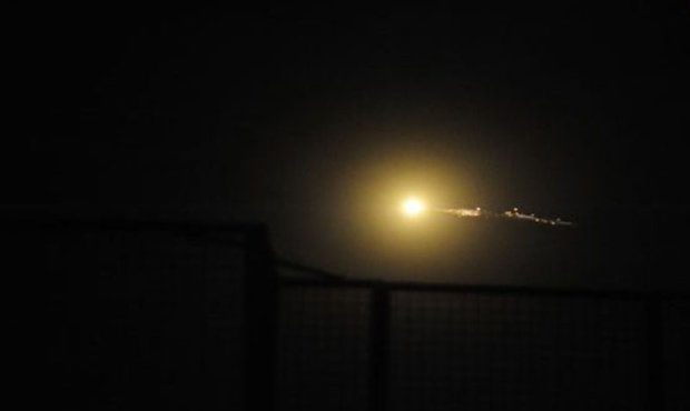 Syrian air defenses confront Israeli attack