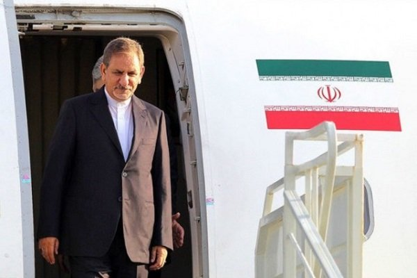 Iranian vice-president Jahangiri arrives in Damascus for official visit