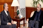 Pakistan stresses trade coop. with Iran